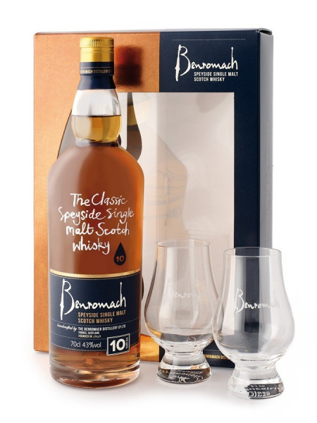 Coffret Whisky Benromach 10 ans