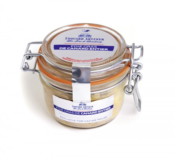 "Foie gras de canard entier ""nature"""