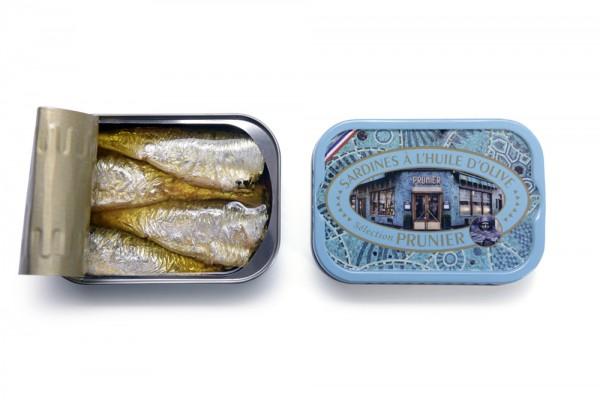 Sardines Prunier à l'huile d'olive
