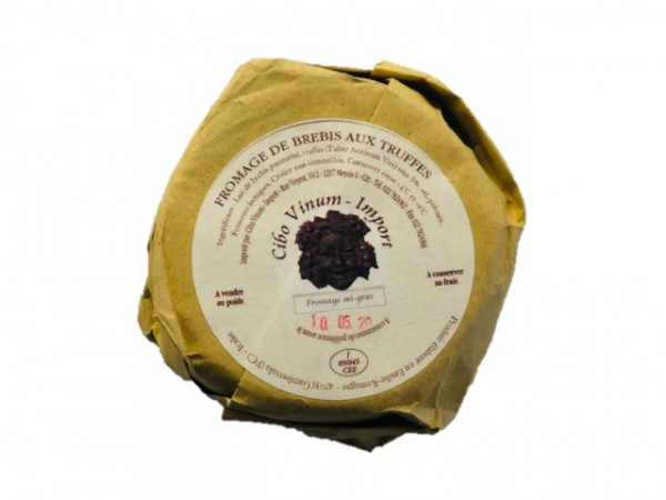 Fromage de brebis aux truffes