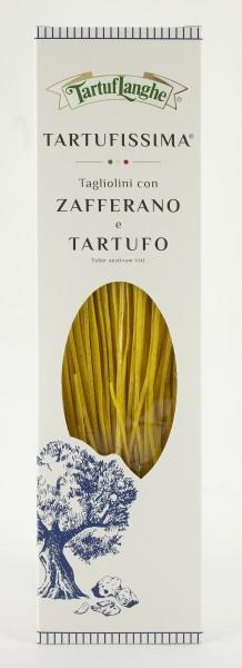 Tagliolini au safran et aux truffes