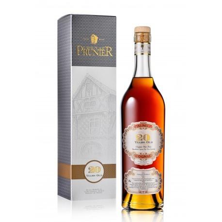 Cognac Prunier 20 ans