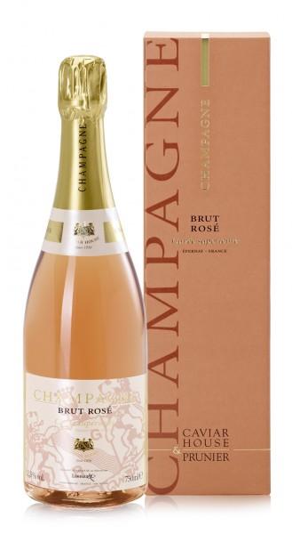 Champagne Rosé Caviar House