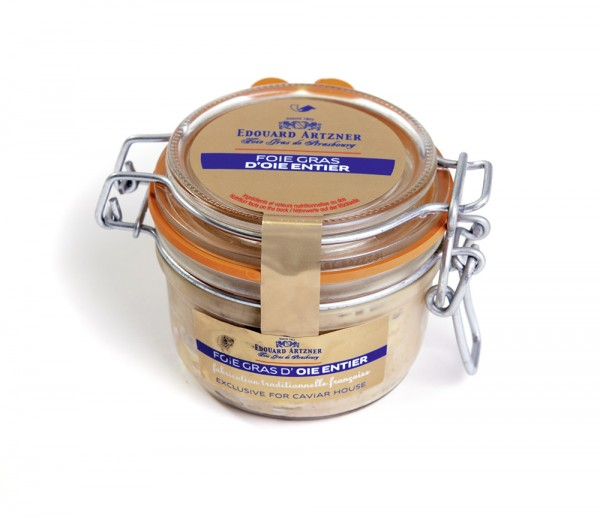 """Whole goose liver """"nature"""", Semi-preserved canned Foie Gras"""