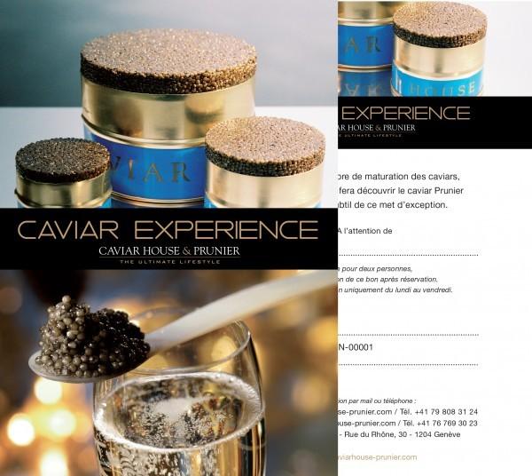 """Coffret """"Dégustation : Expérience Caviar"""""""
