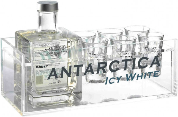 Coffret Cognac Antarctica 50cl
