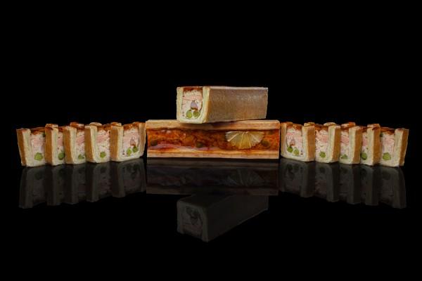 Mini pâté en croute de saumon BALIK KITCHEN - par Philippe Chevrier
