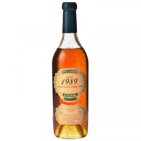 Cognac Prunier - Millésime 1989