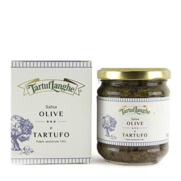 Sauce aux olives et truffes