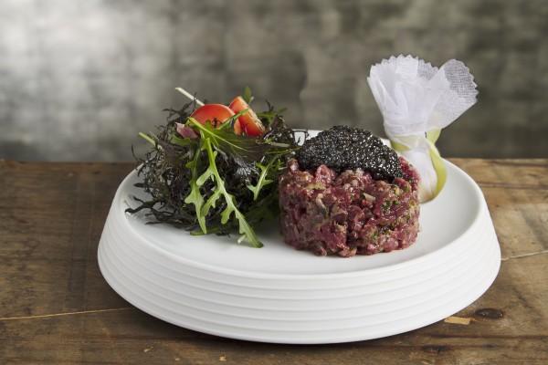 Tartare de boeuf et caviar Prunier Tradition (pour 2 personnes)